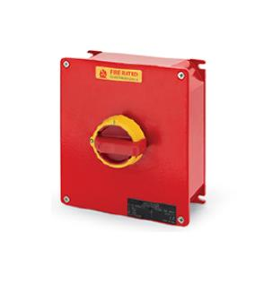 ISOLATOR - Fire Rated enclosed switch-disconnectors F400